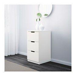 Ikea Nordli Kommode Mit 3 Schubladen Das Zuhause Soll Ein
