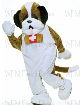 Adult Deluxe Plush Puppy Dog Mascot Costume Www