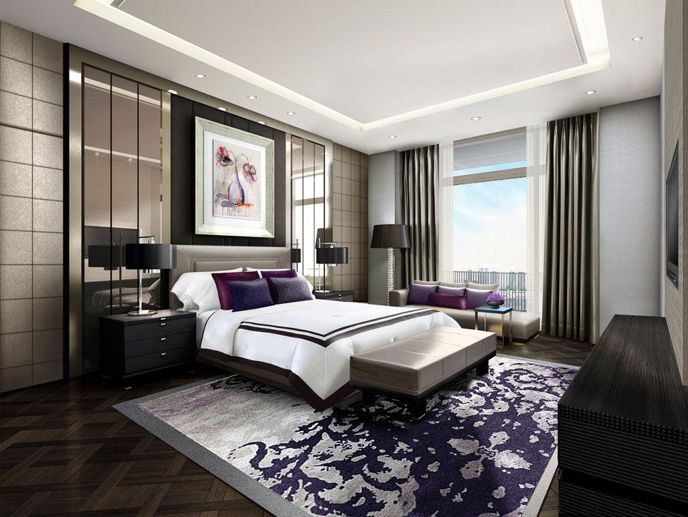 Best Jakarta Indonesia Contemporary Bedroom Design Suites Room 400 x 300