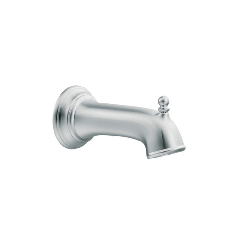Moen 3857 7 1 4 Wall Mounted Tub Spout With 1 2 Slip Fit Connection Oil Rubbed Bronze Wall Mount Tub Faucet Tub Chrome