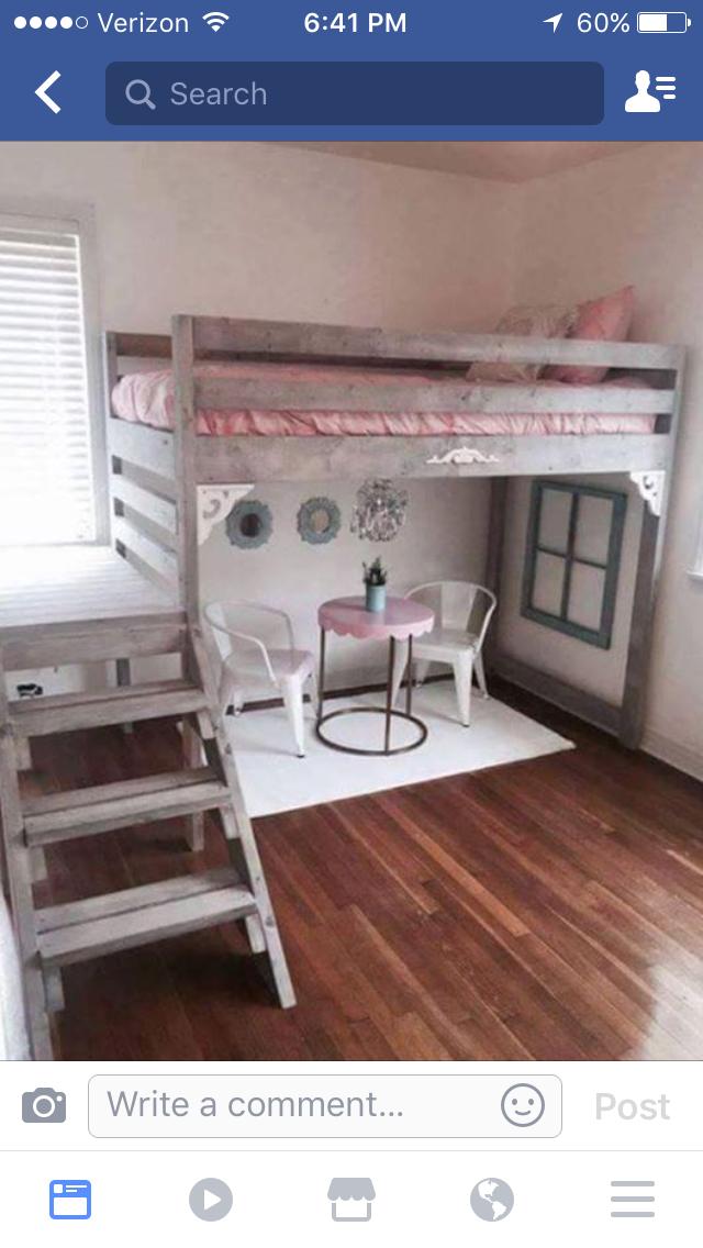 needs a bigger platform DIY Camp Loft