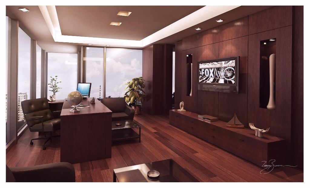 Modern Executive Office Layouts Design
