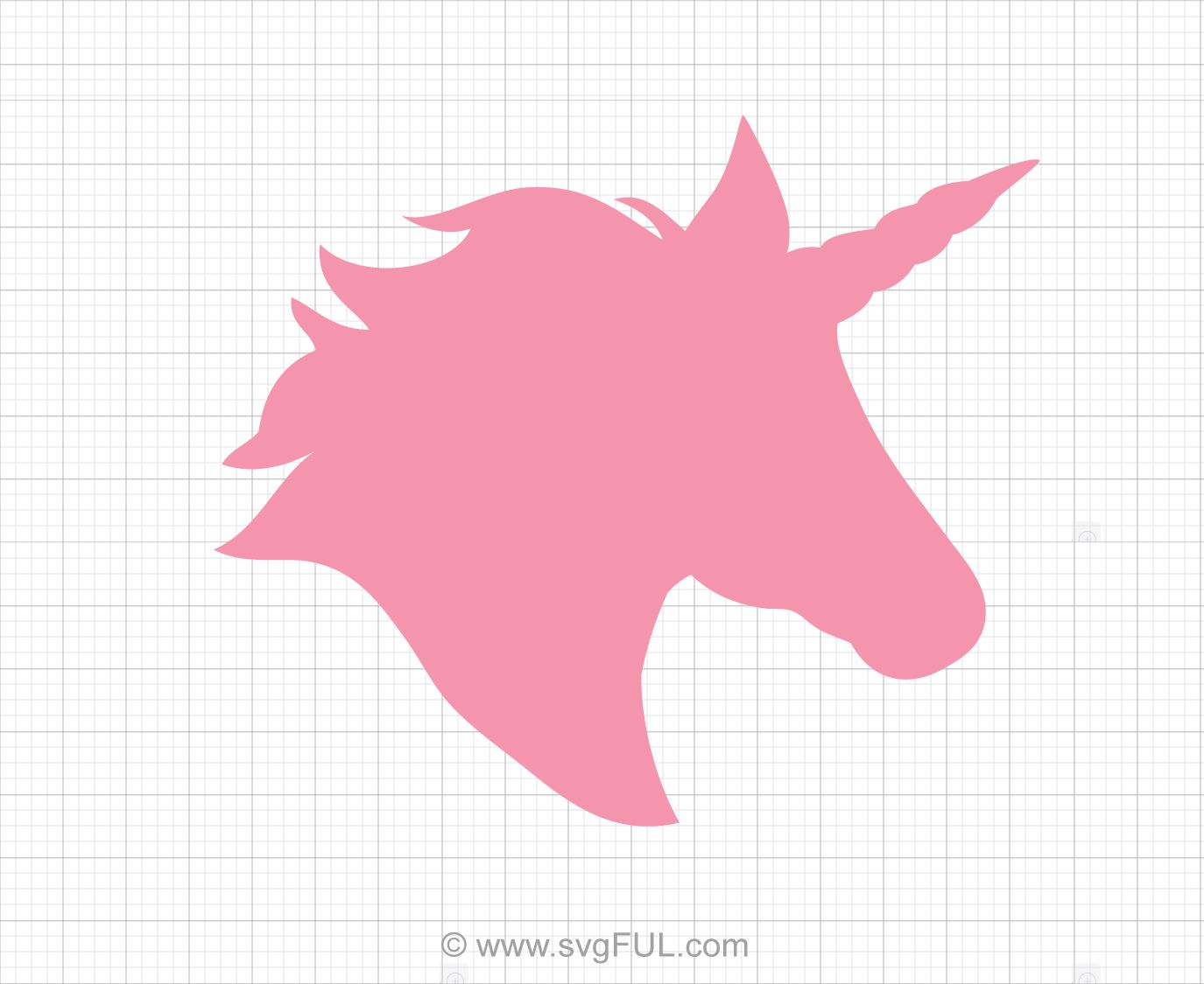 Unicorn Head Svg Clip Art (With images) Unicorn crafts