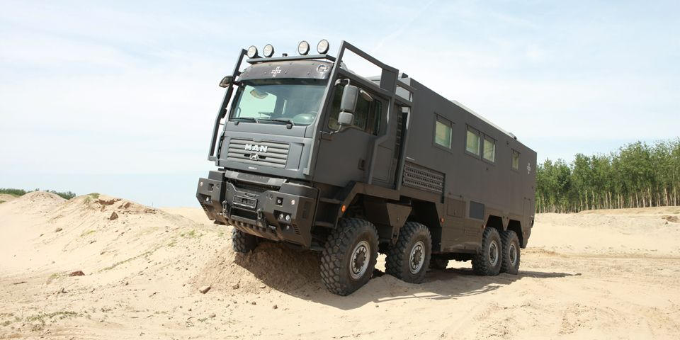 MAN 8x8 Camper ARMADILLO Specialty Vehicles Ltd. | Bug Out Vehicles ...