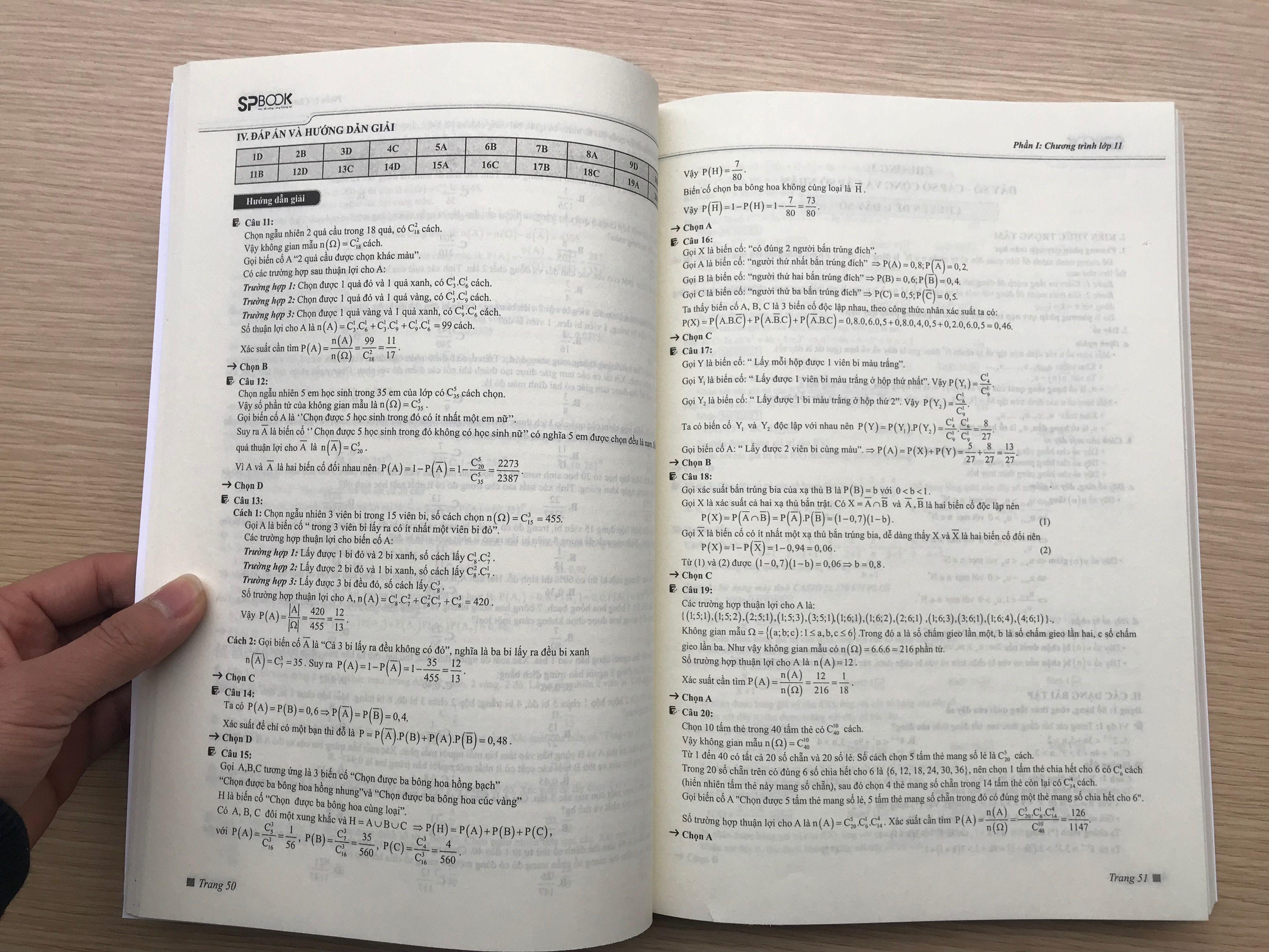 Bài tập và hướng dẫn giải chi tiết