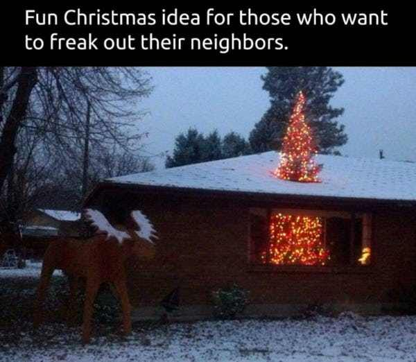 People Prank Their Neighbors Laugh Out Loud Pinterest
