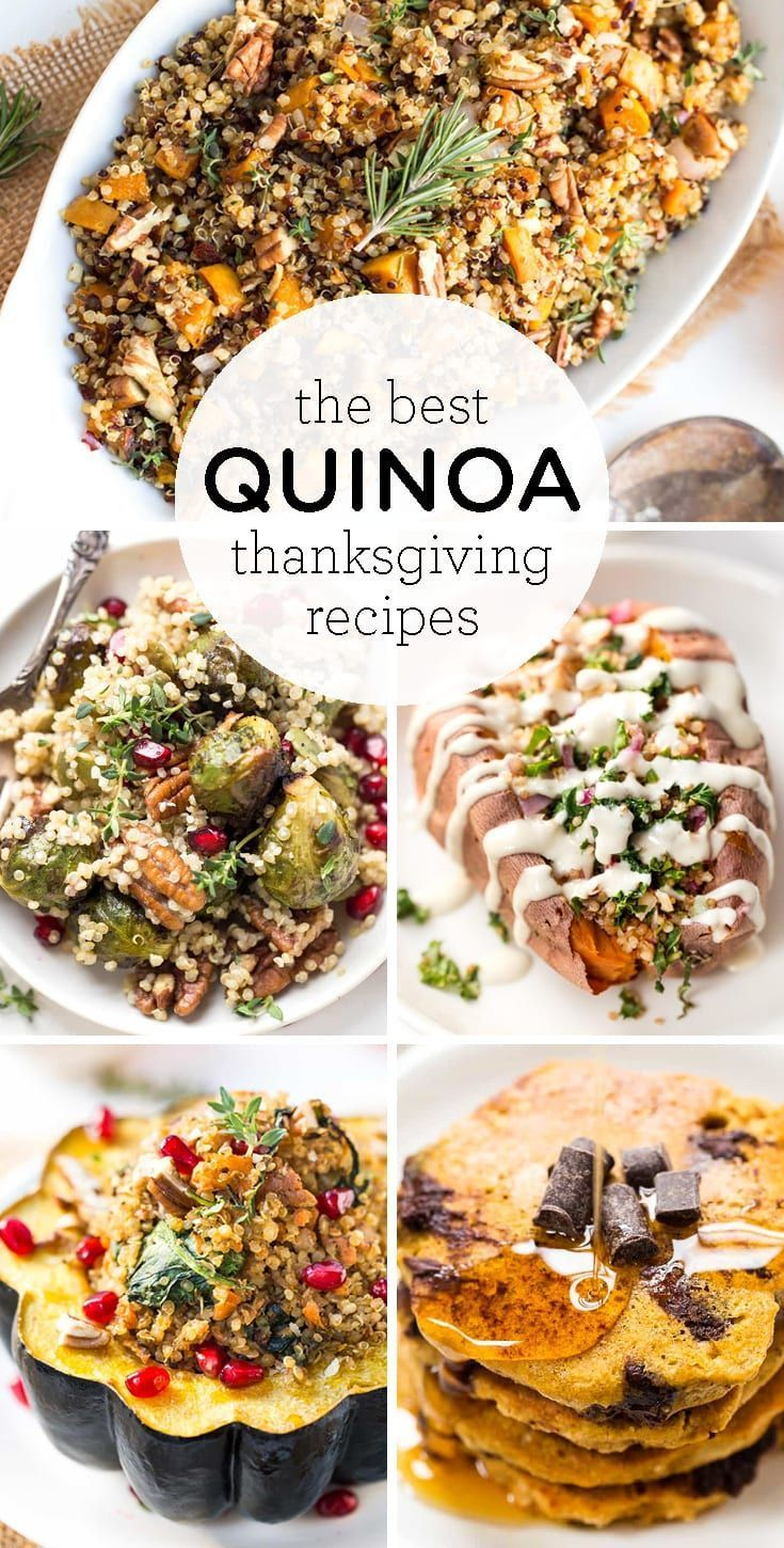 The Best Quinoa Thanksgiving Recipes - Simply Quinoa These are the BEST Quinoa Thanksgiving Recipes