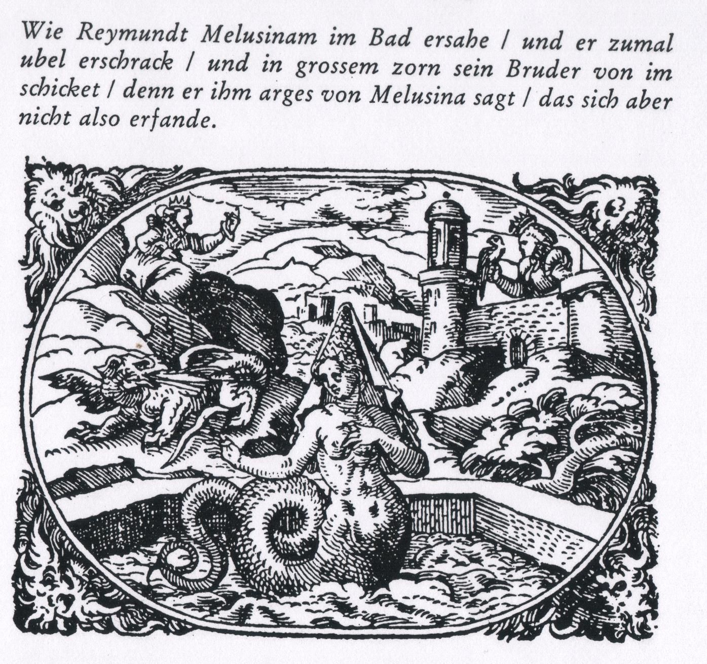 Coffee And Mythology Since I Don T Smoke Cigarettes Mermaid Mythology Engraving Illustration
