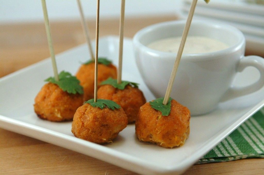 Buffalo Chicken Mini Meatballs