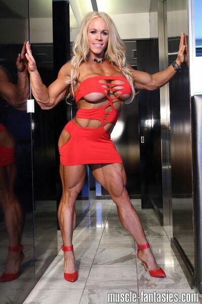 Pin by R0UGA R0U on ALEESHA.YOUNG | Muscle women, Body