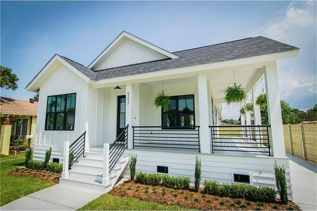 Modern Railing On Porch Porch Design Porch Remodel House With