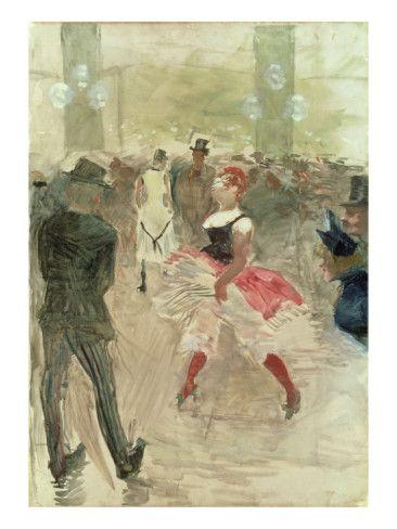 At the Elysee, Montmartre, 1888    by Henri de Toulouse-Lautrec