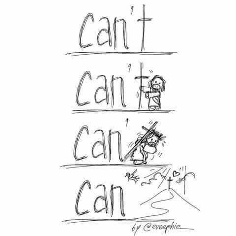 Jesus can…