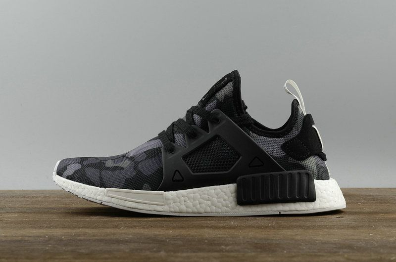 32247e82c Fashion Adidas Originals NMD XR1 PK Duck Camo Pack Core Black Noir White  blanc BA7231 Youth Big Boys Sneakers