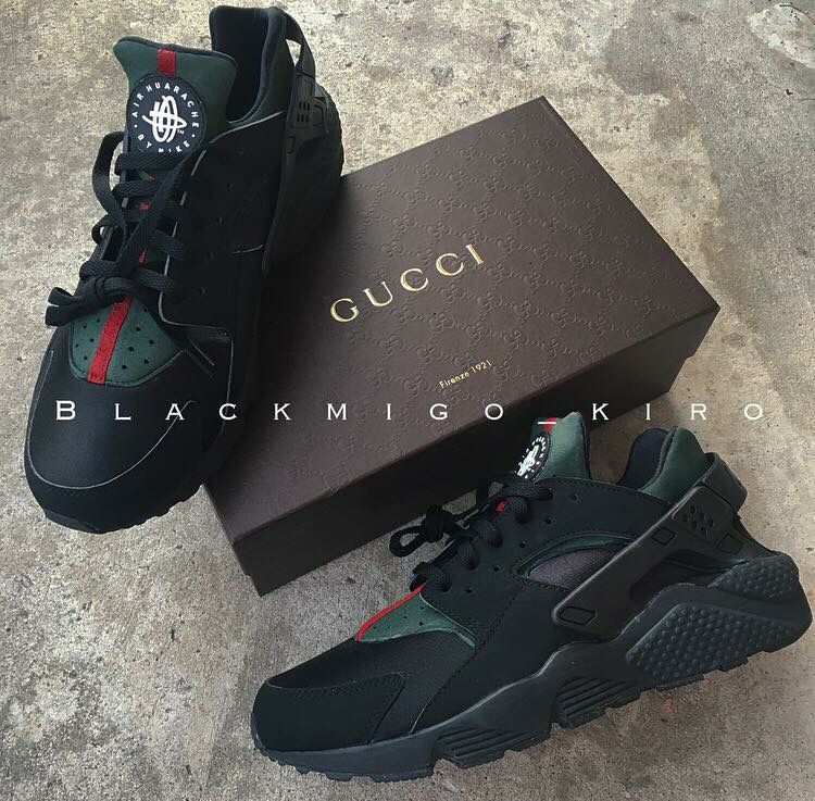 Pintrest: @QveenKamerynn Gucci Huarache customking.bigcartel