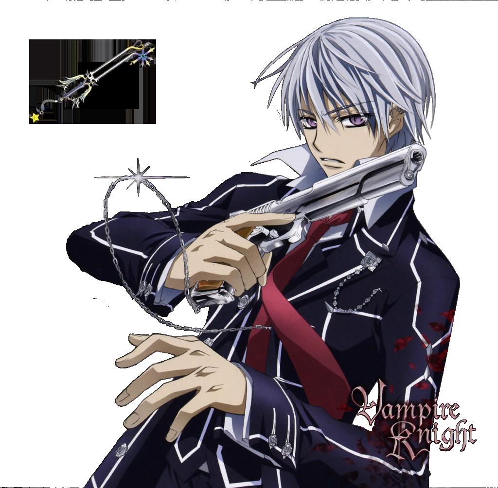 Zero Kiryu + Bloody Rose VampireKnight Manga Anime