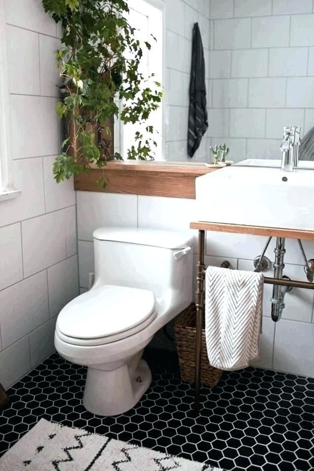 White Square Tile Bathroom Glazed Porcelain Mosaic Shower Tiles Black Grout Large Wall Hexagon Tile Bathroom Floor Tile Bathroom Large Tile Bathroom