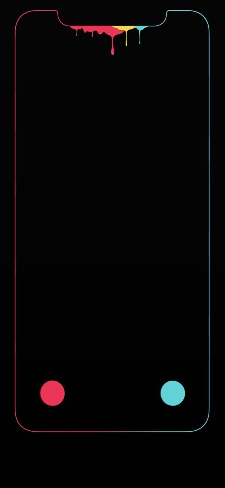Hide the iPhone X Notch with a Wallpaper Trick