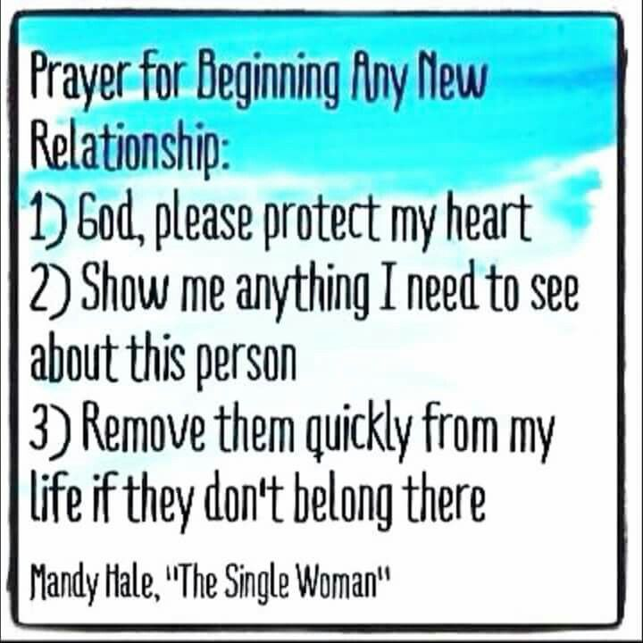 Prayers for dating