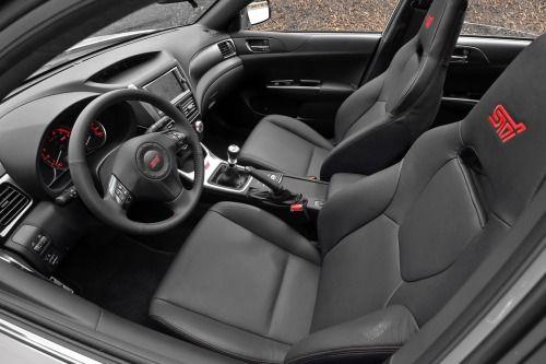 2013 Subaru Impreza Wrx Sti Limited Sedan Interior Subaru