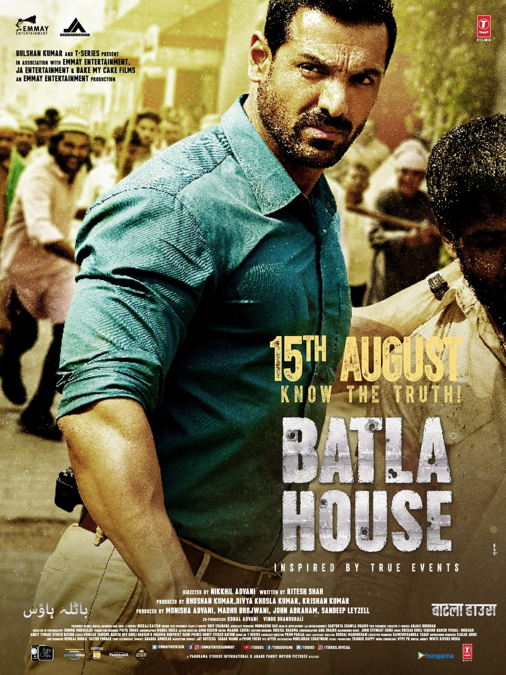 Batla House is an upcoming action film. This movie is Based on the ...