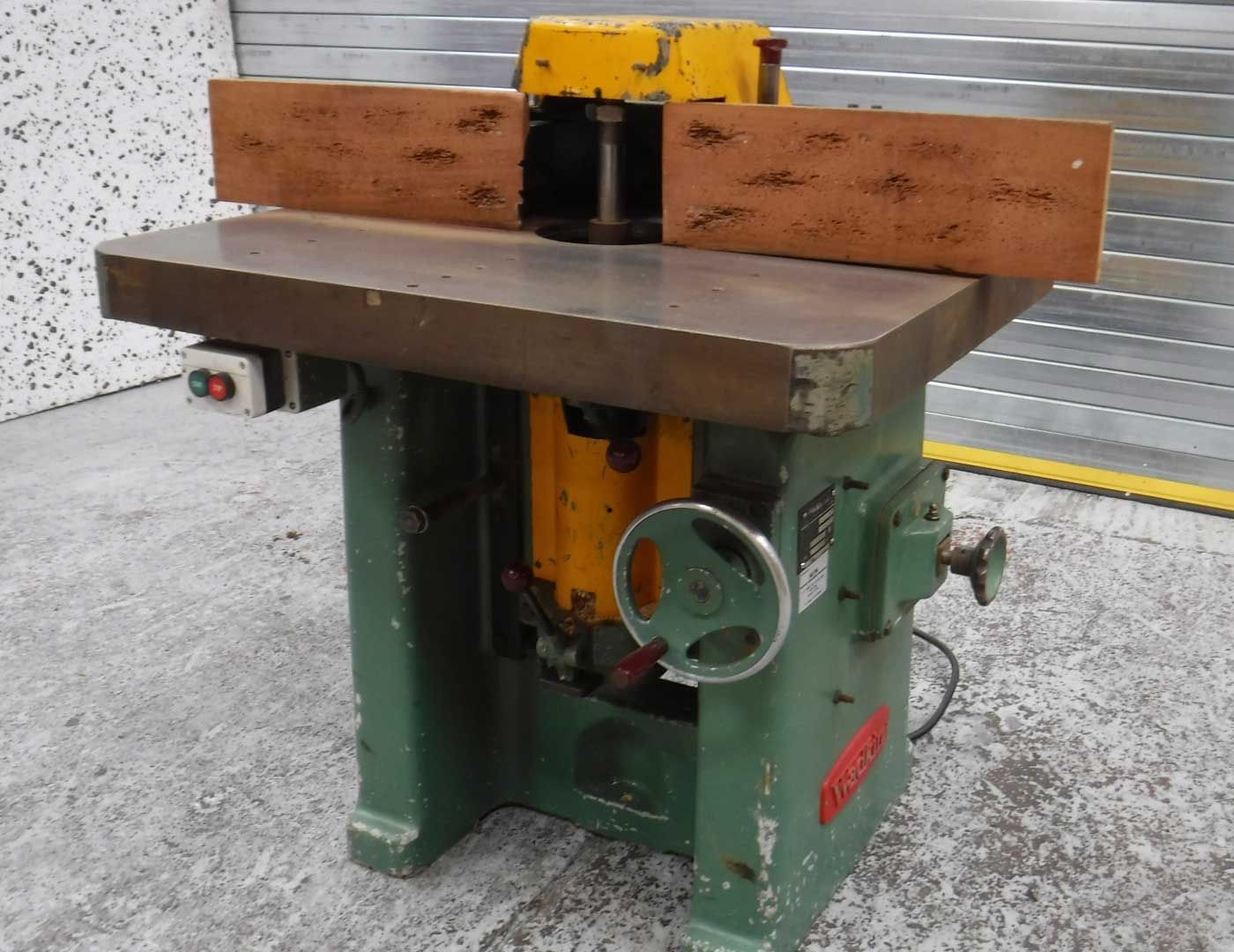 Used Wadkin EQ Spindle Moulder | Woodworking machinery ...