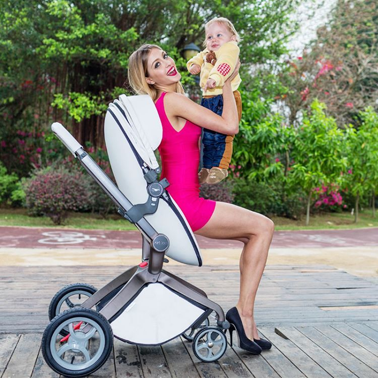 The jewel in the baby product crown is the stroller. And