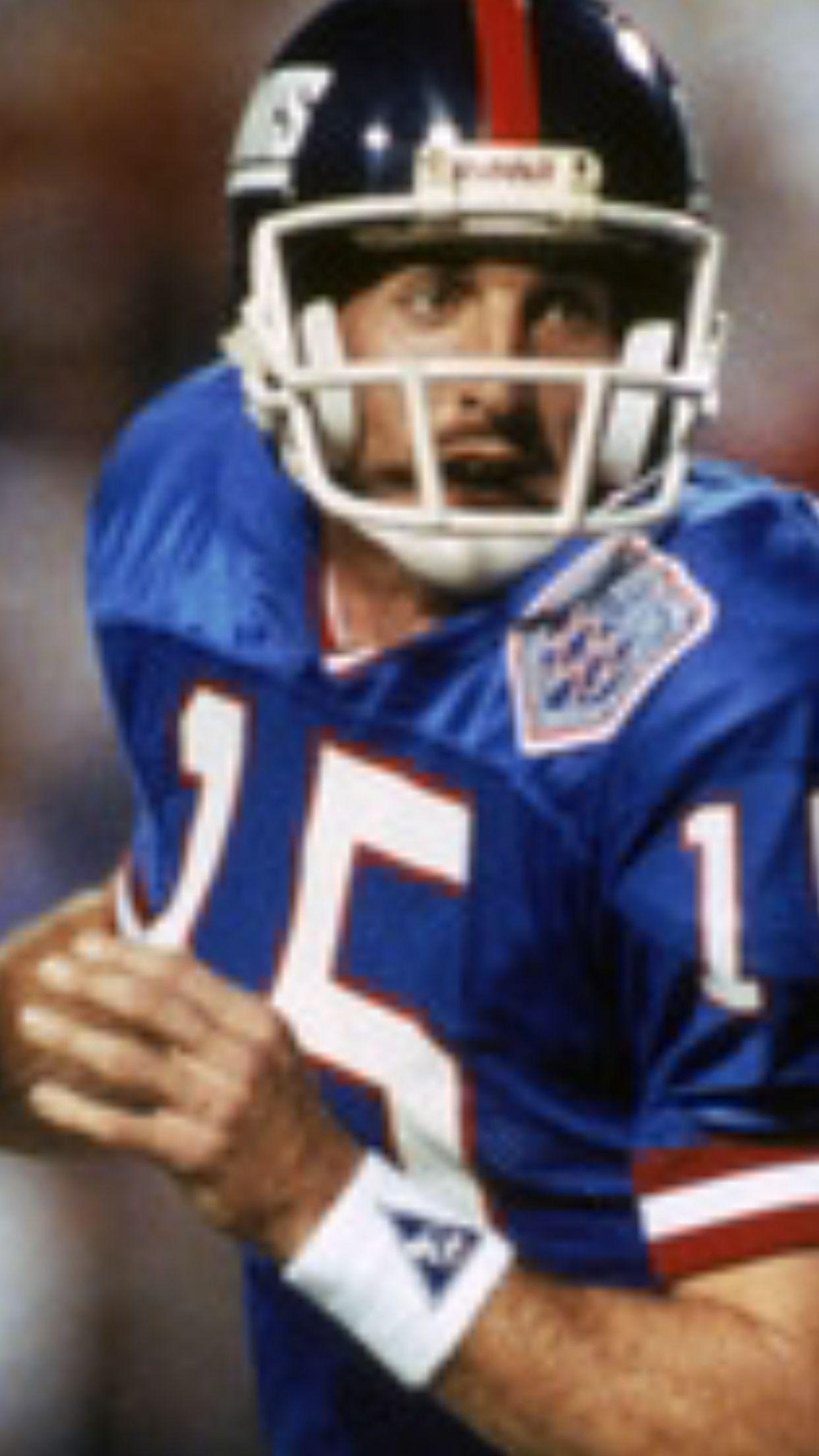 3aa99573c497d Jeff Hostetler NY Giants Starting Quarterback in Super Bowl XXV ...