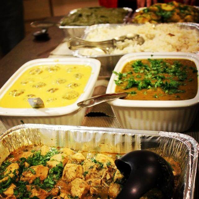Indian Christmas Dinner