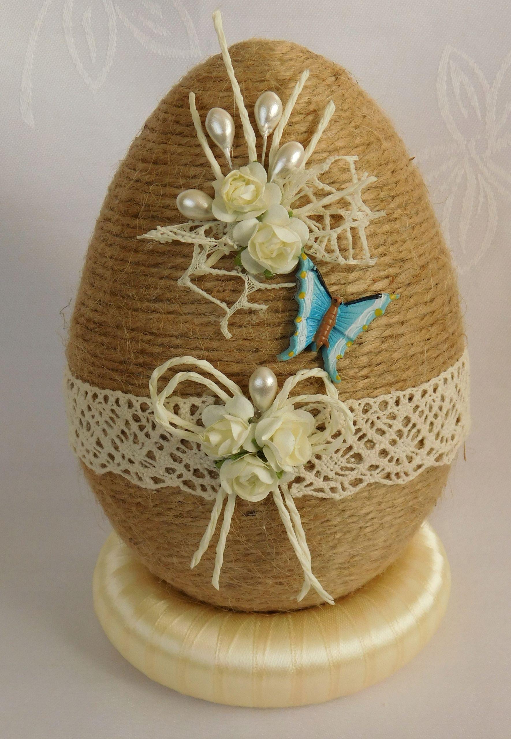 Pisanka Do Koszyczka Ozdoby Wielkanocne Rekodzielo 7838382139 Oficjalne Archiwum Allegro Easter Crafts Easter Diy Diy Christmas Ornaments Easy