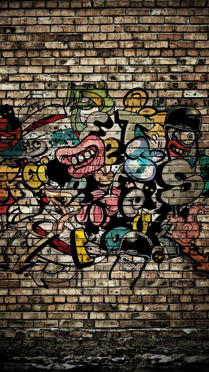 Graffiti Wall Wallpaper by K_a_r_m_a_ 5e Free on ZEDGE