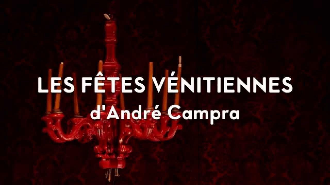Bande annonce des Fêtes vénitiennes à l'Opéra Comique