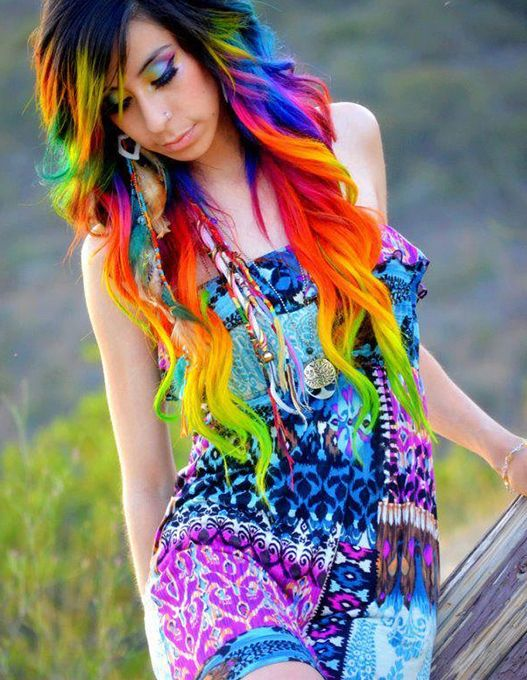 3 Bright Hair Colour Styles to Try Out in 2014 | Bright hair ...