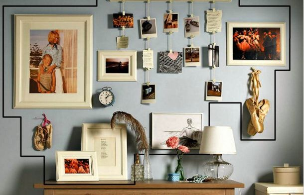 Creative Wall Displays Gallery Walls And More Gallery Wall Photo Wall Gallery Art Gallery Wall