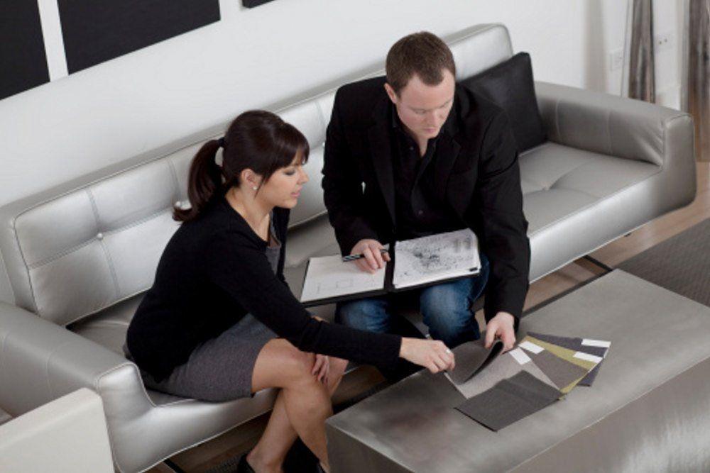 6 Questions Your Interior Designer Should Ask You   Interior Designer  Showing Samples
