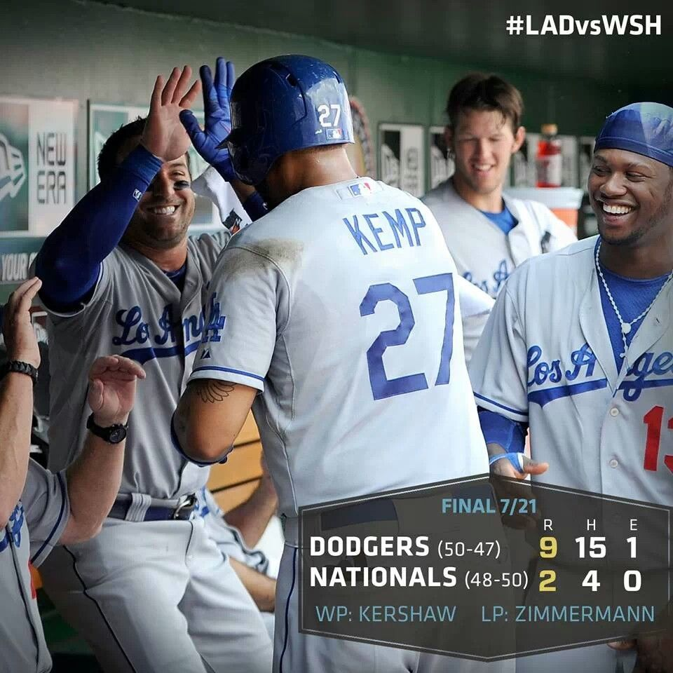 Let's go dodgers Dodgers, Let's go dodgers, La dodgers