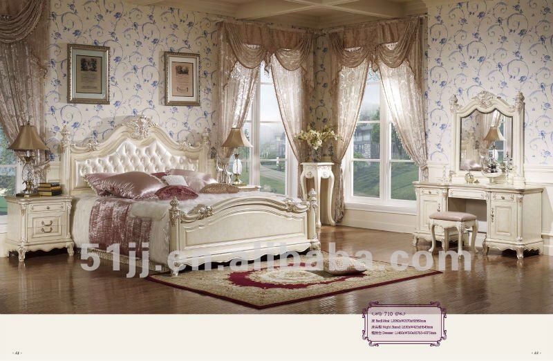 Pink blue bedroom