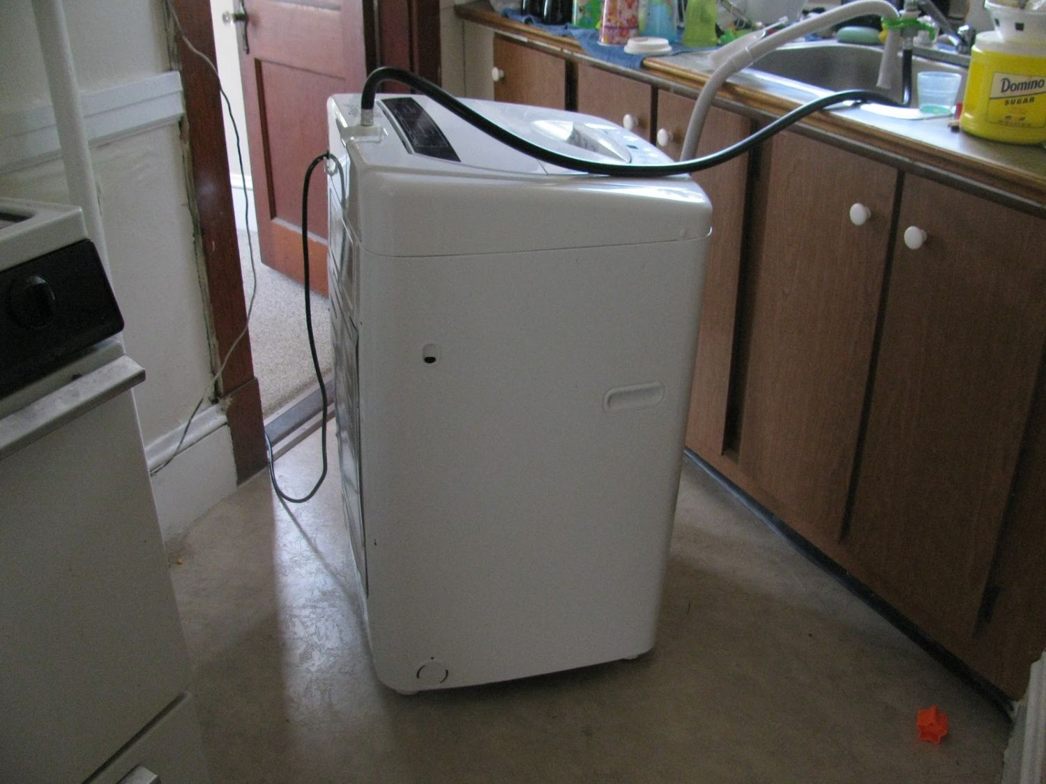 Washer That Hooks Up To Kitchen Sink Small Kitchen Remodel Ideas On A Budget Check More At Http Www Entrop Portable Washing Machine Washing Machine Washing