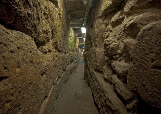 עיר דוד - תעלת הניקוז המרכזית