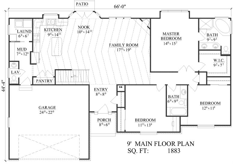Jl Home Design Cordner R 1883 House Design Show Home House Plans
