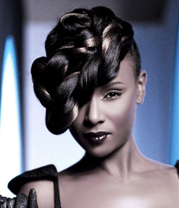 Long Black Hairstyles | Beautiful african hair, Relaxed hair, Fashion forward hair