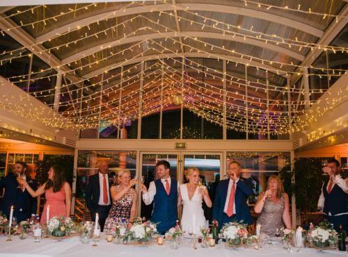 Mariage  Arcachon mariage anglais couleurs pastels fushia et