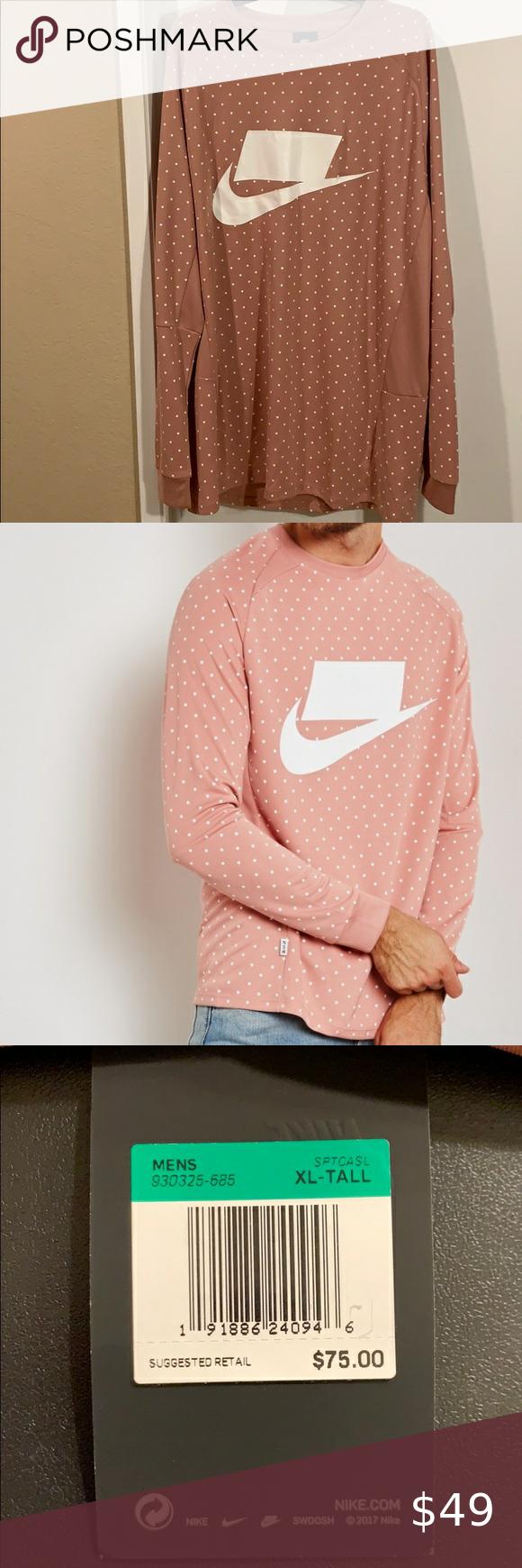 Nike Nsw Knit Sweatshirt Knit Sweatshirt Sweatshirts Sweatshirt Shirt [ 1740 x 580 Pixel ]