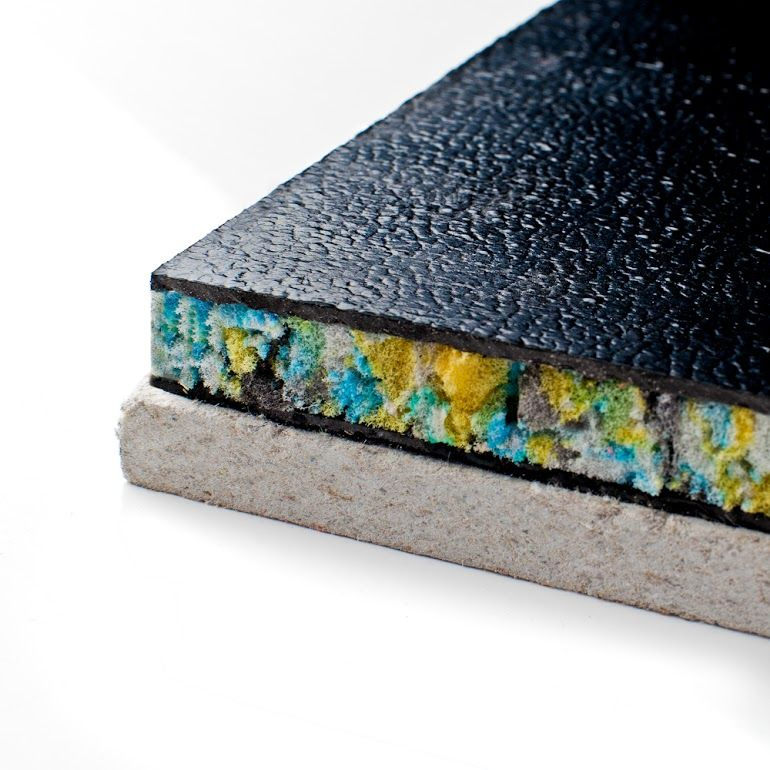 "Soundboard Plus. 2.5cm Thick -- ""the Ultimate Gypsum Based"