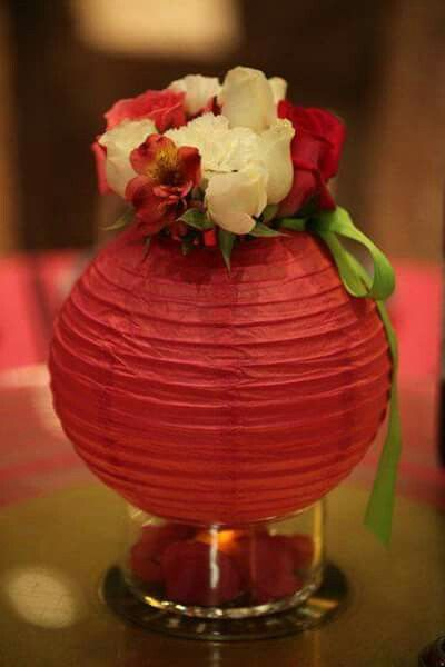 P i n t e r e s t teejay2997 good ideas pinterest chinese flora lantern with a candle on the bottle makes the perfect centerpiece junglespirit Image collections