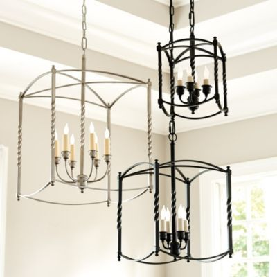 For The Foyer In Extra Large Carriage House Chandelier