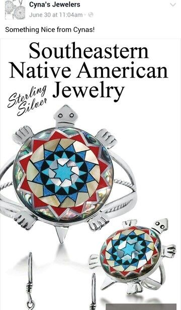 Lumbee Indian Jewelry From Cynas In Pembroke Nc Lumbee And Proud