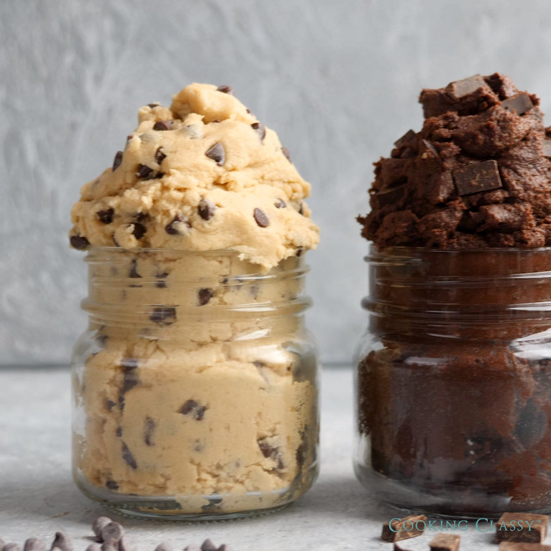 Cookie Dough 3 Ways!!