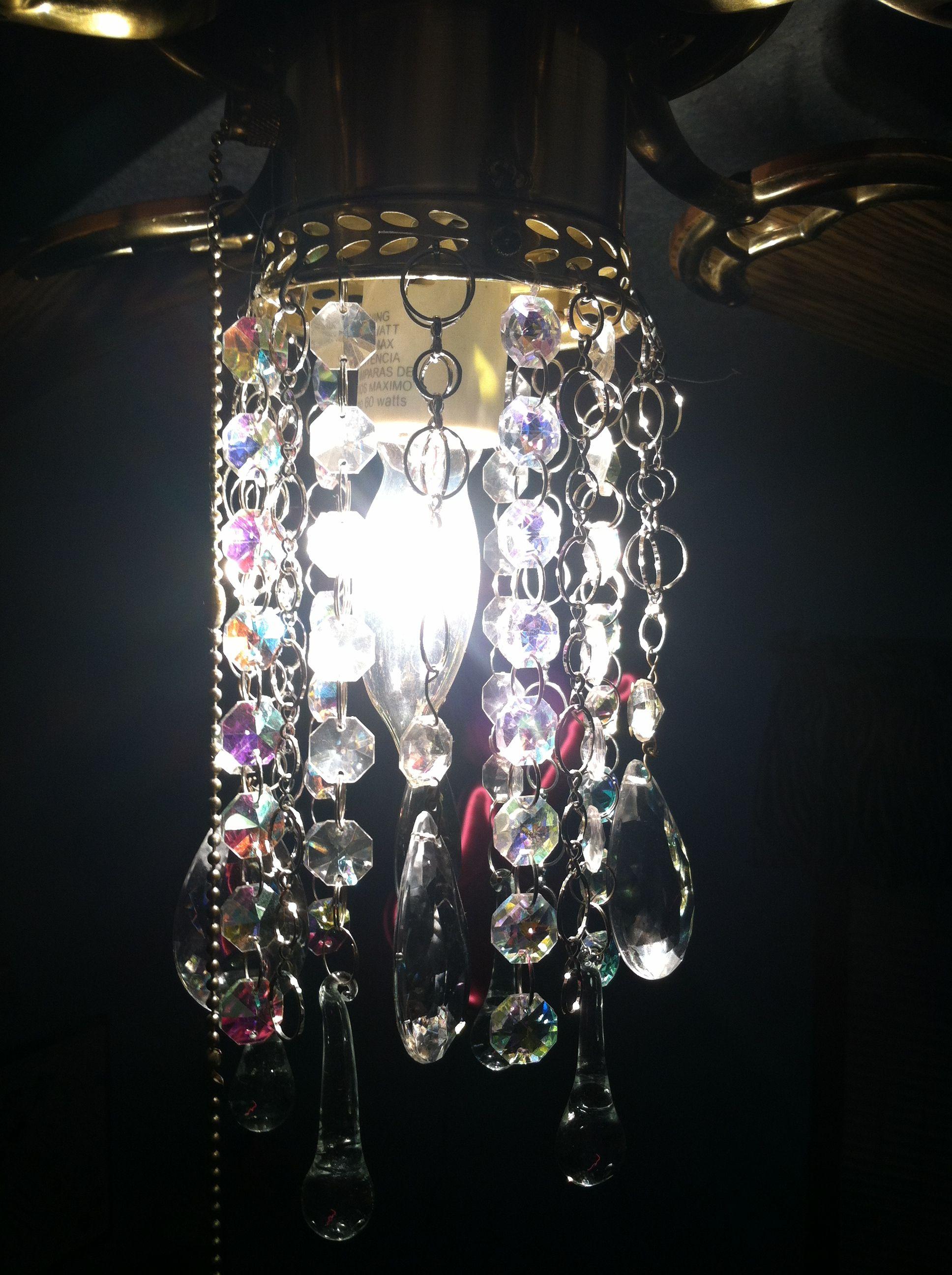 Fandelier. It's A Ceiling Fan Made To Also Resemble A