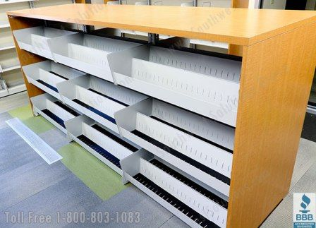 dvd's - front brackets and tiered shelves - http://a3